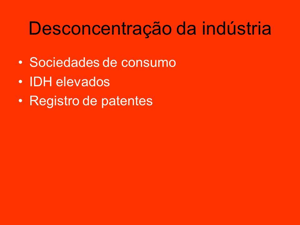Desconcentração da indústria Acessem e comentem: http://blog1.educacional.com.br/loucosporgeografia http://blog1.educacional.com.br/vejaageografia