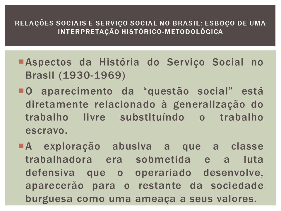 Impõe-se, a partir daí, a necessidade do controle social da exploração da força de trabalho.