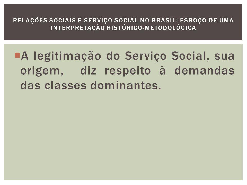 Na década de 20, os movimentos sociais dão visibilidade às condições de precarização no trato com o proletariado, tornado essas condições públicas às diversas classes da sociedade brasileira.