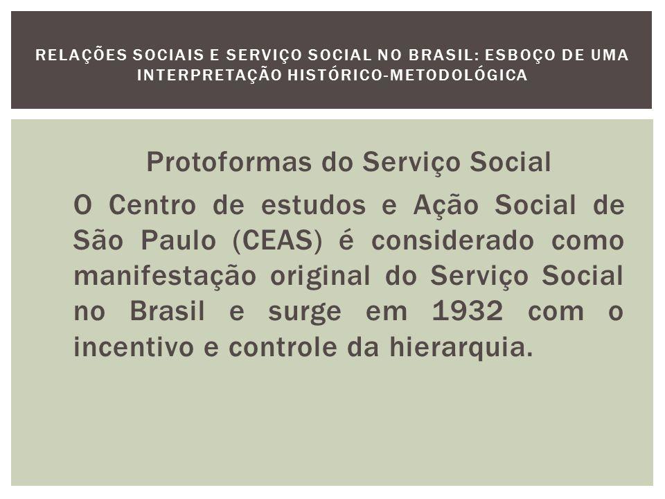 O obejtivo do CEAS será promover a formação de seus membros pelo estudo da doutrina social da igreja e no conhecimento aprofundado dos problemas sociais, visando tornar mais eficiente a atuação das trabalhadoras sociais.