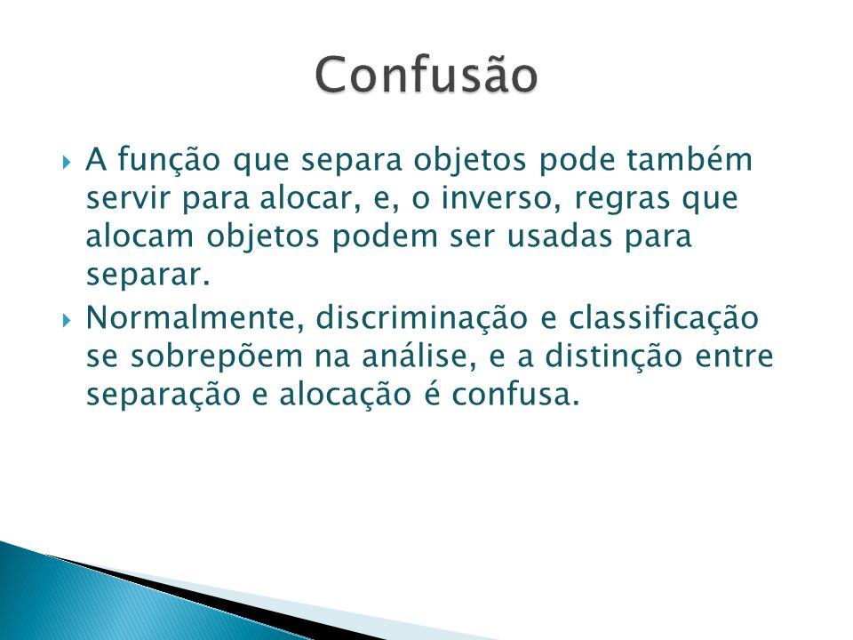 Segundo REGAZZI (2000) o problema da discriminação entre dois ou mais grupos, visando posterior classificação, foi inicialmente abordado por Fisher (1936).