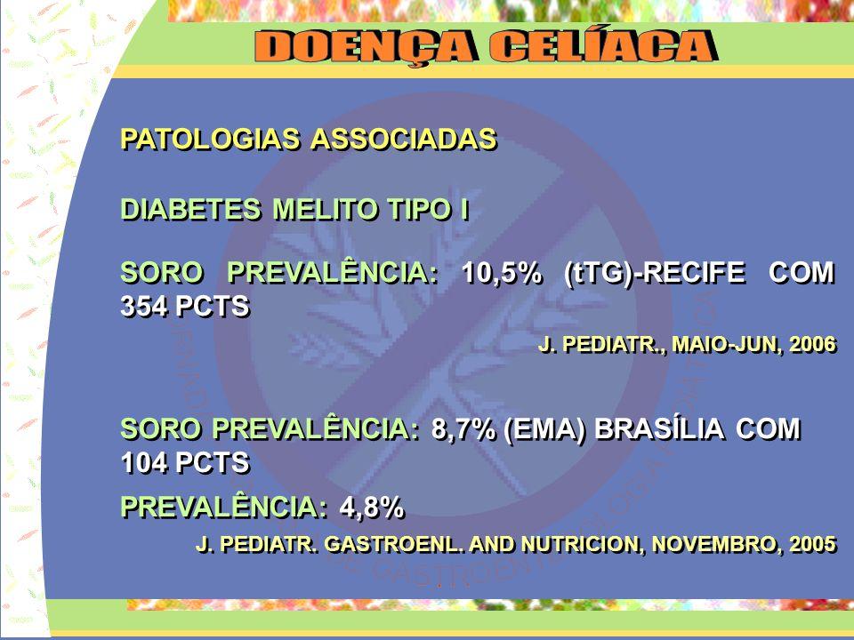 PATOLOGIAS ASSOCIADAS BAIXA ESTATURA PREVALÊNCIA: 4,7% 106 PCTS REV.BRASILEIRA PESQ.