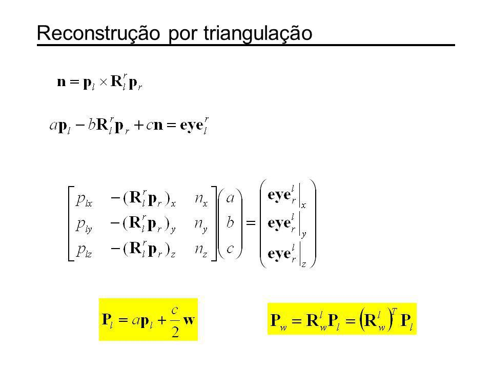 Outro processo de reconstrução Miguel Ribo, Axel Pinz, Anton L.