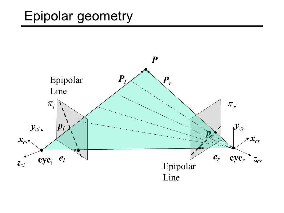 Epipolar correspondence