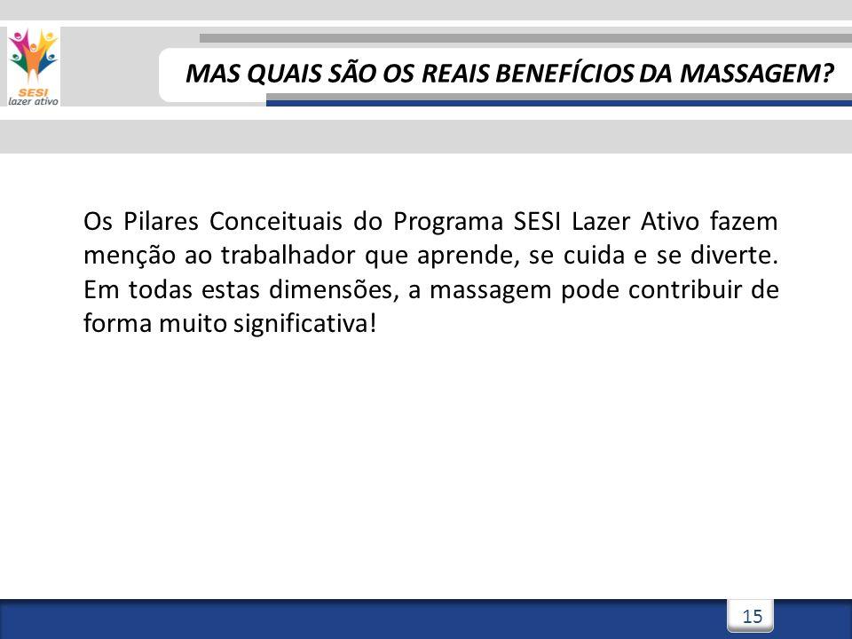 3/3/201416 MAS QUAIS SÃO OS REAIS BENEFÍCIOS DA MASSAGEM.