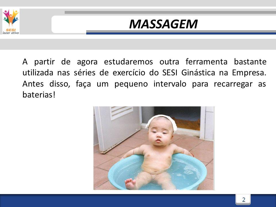 3/3/20143 3 CONCEITO A palavra massagem tem sua origem do grego masso, que significa literalmente amassar .