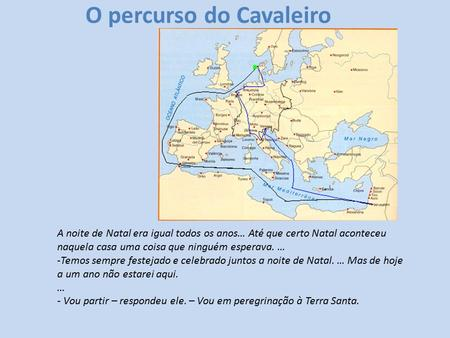 O percurso do Cavaleiro