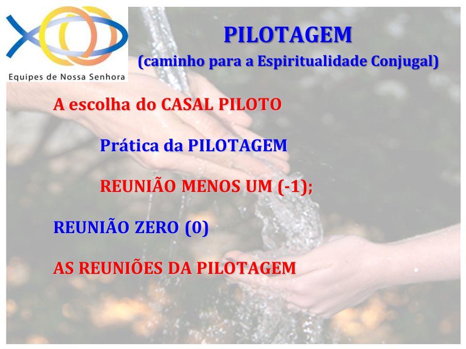 REPILOTAGEM PILOTAGEM PARALELA PILOTAGEM PARALELA PILOTAGEM (caminho para a Espiritualidade Conjugal)