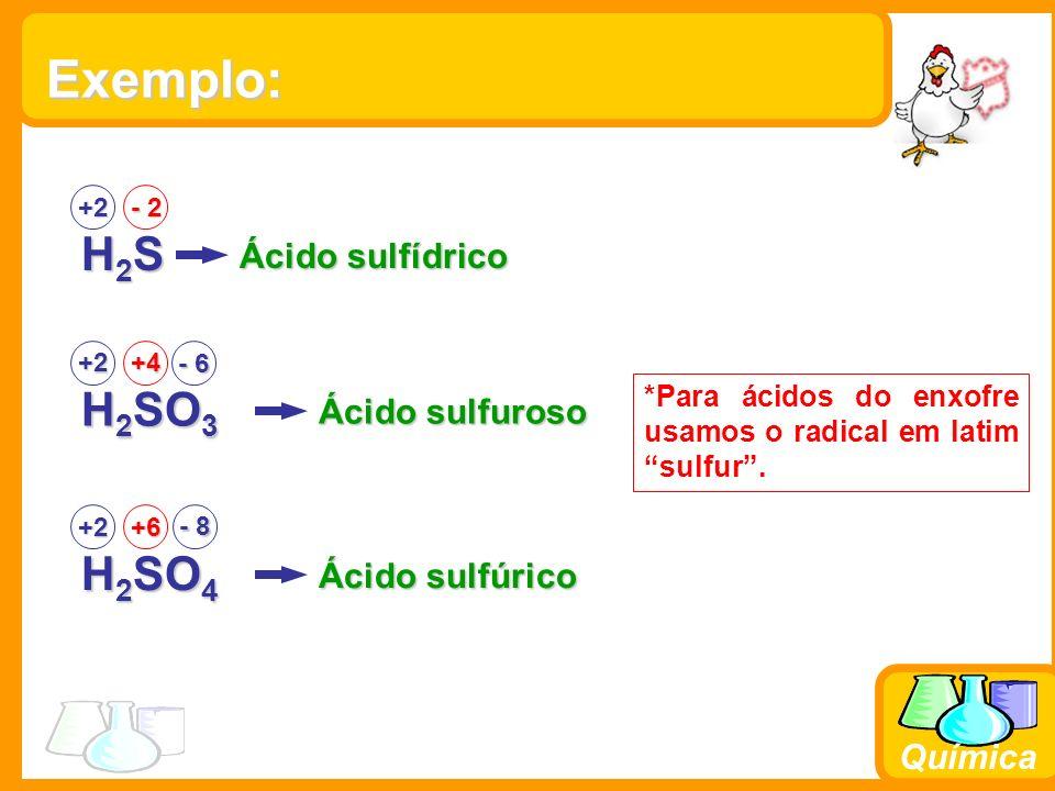 Química Prefixos Orto, Meta e Piro O prefixo Orto é usado para o Ácido Fundamental; o prefixo meta é usado quando do Ácido orto retira-se 1H 2 O; o piro é usado para indicar a retirada de 1H 2 O de duas Moléculas do orto.