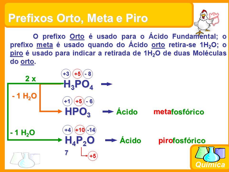 Química Características gerais dos ácidos Apresentam sabor azedo; Apresentam sabor azedo; Desidratam a matéria orgânica; Desidratam a matéria orgânica; Deixam incolor a solução alcoólica de fenolftaleína; Deixam incolor a solução alcoólica de fenolftaleína; Neutralizam bases formando sal e água; Neutralizam bases formando sal e água;