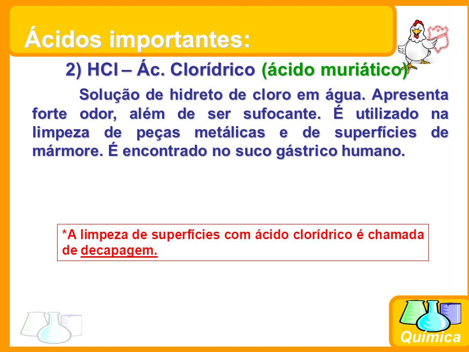 Química 3) HNO 3 – Ác.