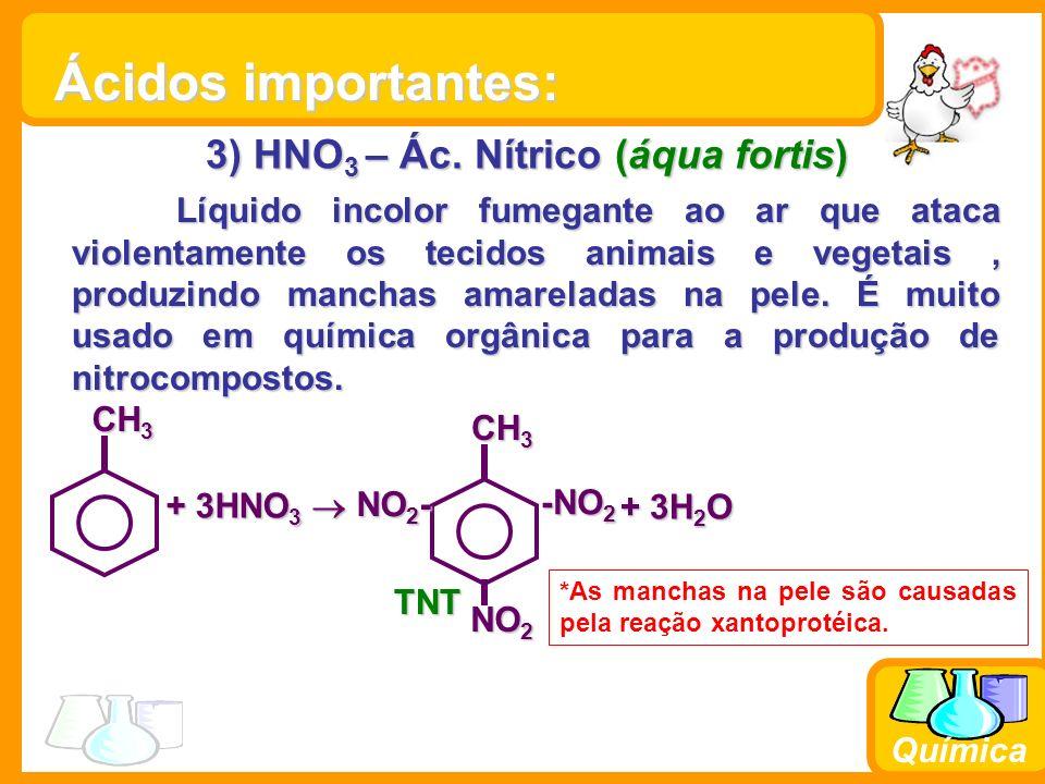 Química 4) H 3 PO 4 – Ác.