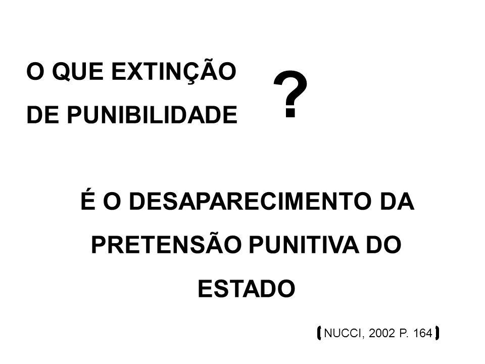 EXTINÇÃO DE PUNIBILIDADE E ESCUSAS ABSOLUTÓRIAS SÃO A MESMA COISA .