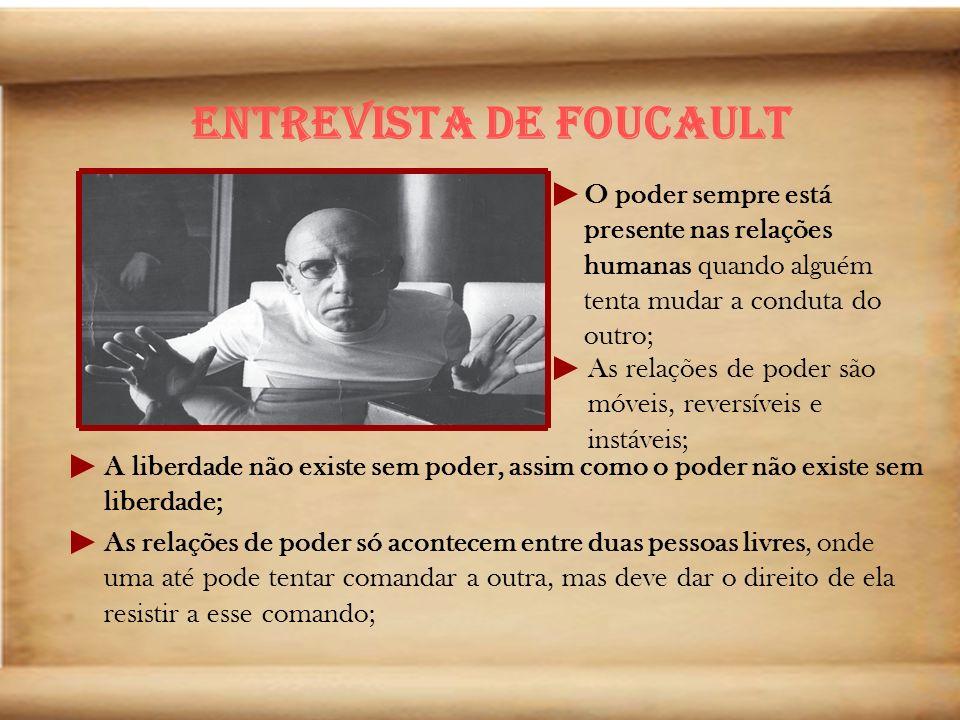 Não pergunte a ninguém o que você deve fazer de sua vida:pergunte-o a si mesmo(Michel Foucault)