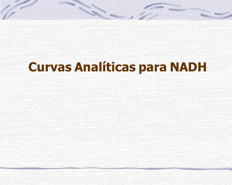 Comparações entre as curvas de adição de padrão de NADH, Ip vs.