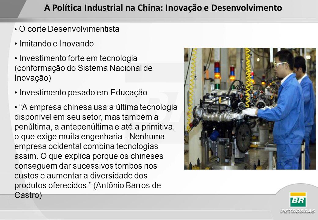 Propriedade intelectual de quem? Fonte: Conselho Empresarial Brasil China, Nogueira (2011)