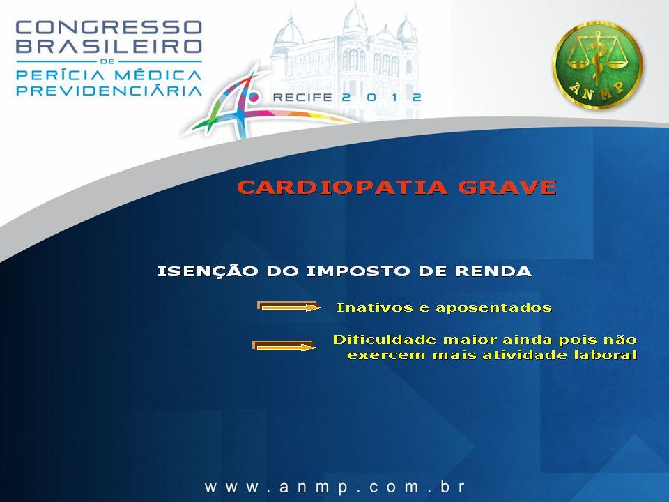 São consideradas Cardiopatias Graves: a) as cardiopatias agudas, que, habitualmente são rápidas em sua evolução.