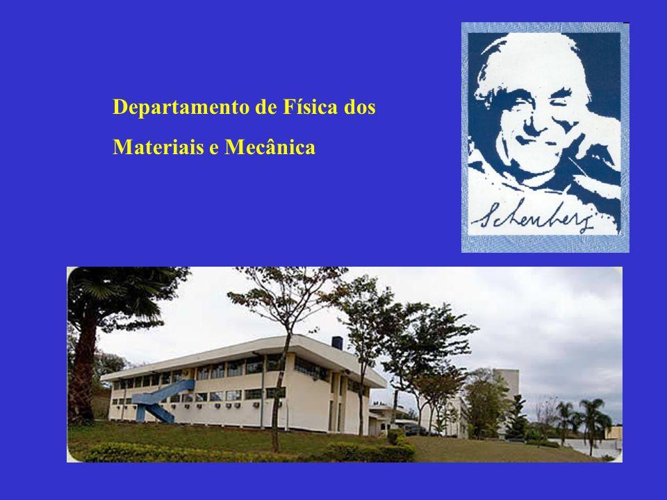 As origens do Departamento de Física dos Materiais e Mecânica Em 1961, por iniciativa do Prof.