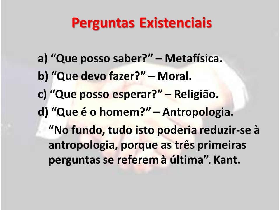 Questões relacionadas à moral e à ética 1.Problemas no atual contexto sócio- político-econômico.