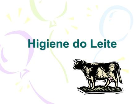Higiene do Leite.