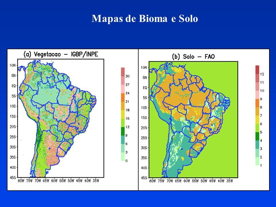 Estimativa de umidade do solo para a América do Sul Projeto de IC do aluno Rodrigo Gevaerd (apoio FAPESP).