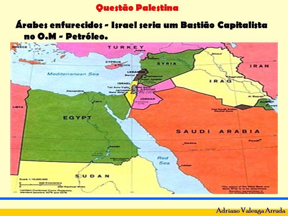 Questão Palestina Adriano Valenga Arruda Estado árabe nem nasceu.