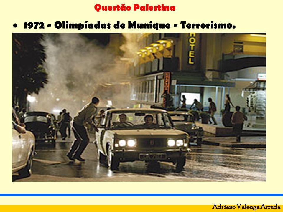 Questão Palestina Adriano Valenga Arruda 1973 - Guerra do Yon Kipur: Síria e Egito X Israel.