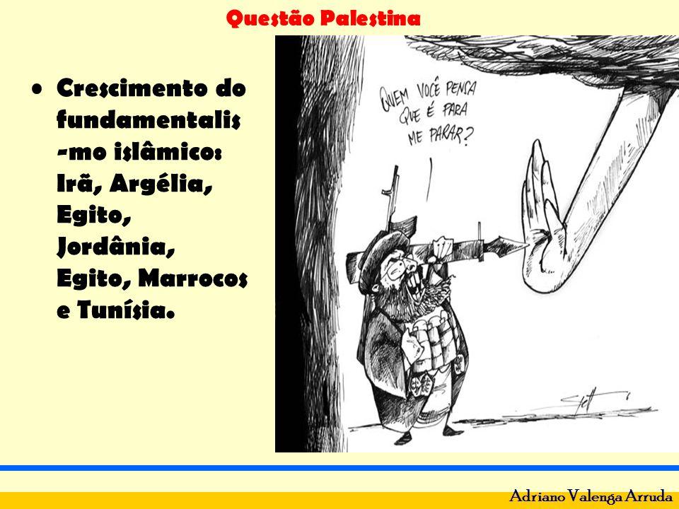 Questão Palestina Adriano Valenga Arruda Grupos Radicais: Palestino Hamas e Libanês Hezbollah.