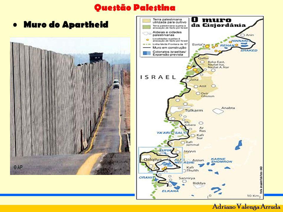 Questão Palestina Adriano Valenga Arruda Morte de Yasser Arafat.