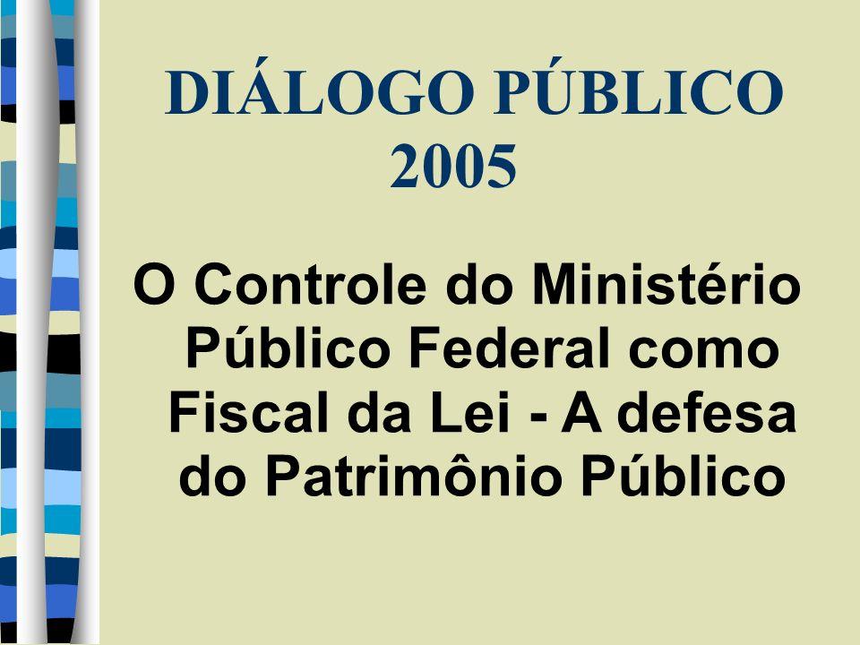 1 - O Ministério Público Federal 1.1 – Organização