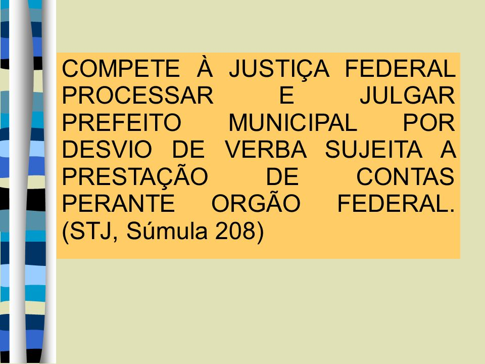 CRIMINAL.CONFLITO DE COMPETÊNCIA. PREFEITO.