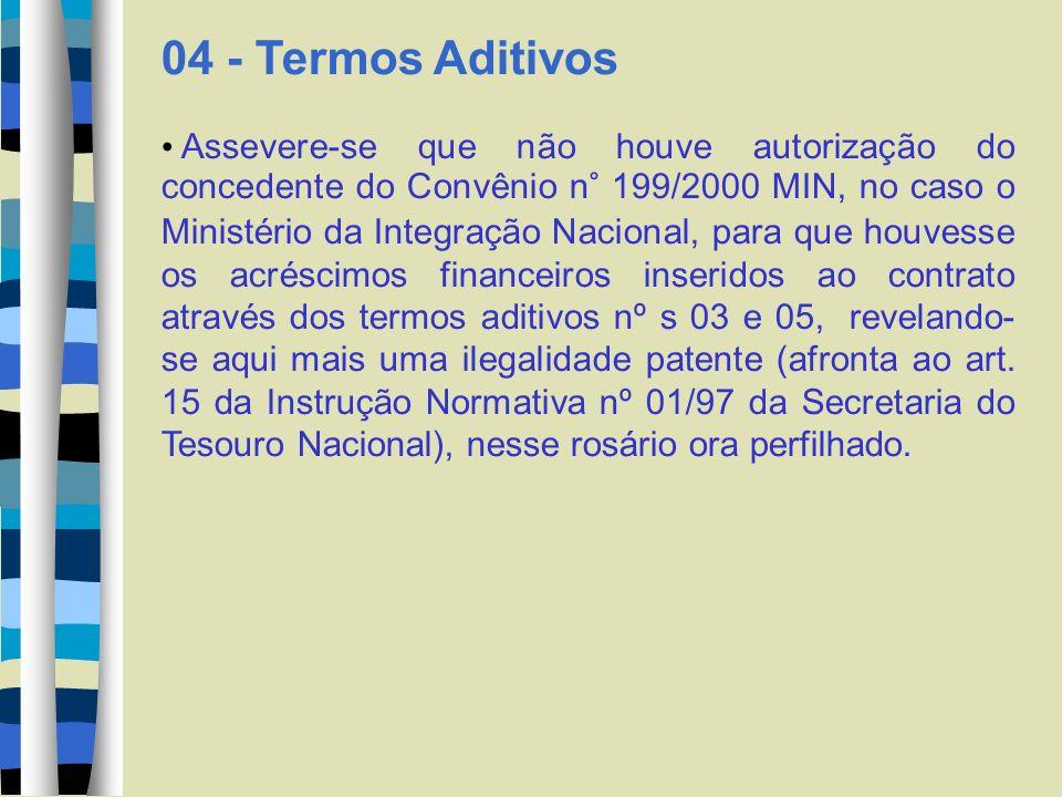05 - TCU - Das Decisões do Tribunal de Contas da união Na Decisão n° 489/2000, da lavra do e.