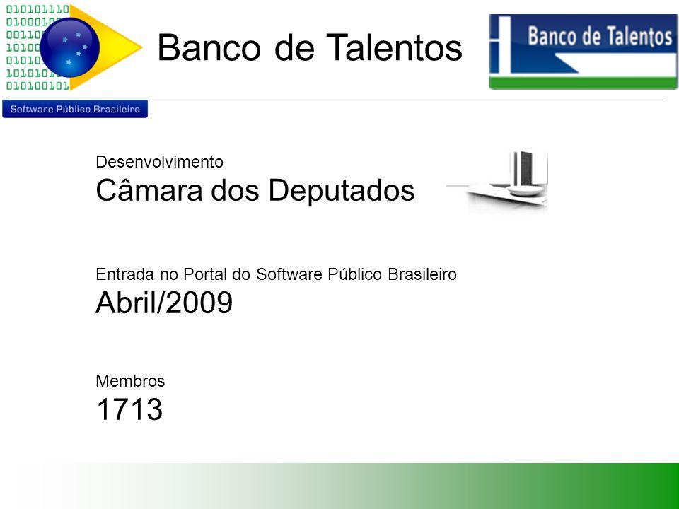 Banco de Talentos Coordenadores Luciano Luis Dias Fabiano Peruzzo Schwartz Principais Colaboradores Eduardo Santos Christian Cleber Masdeval Braz Acássio Queiroz