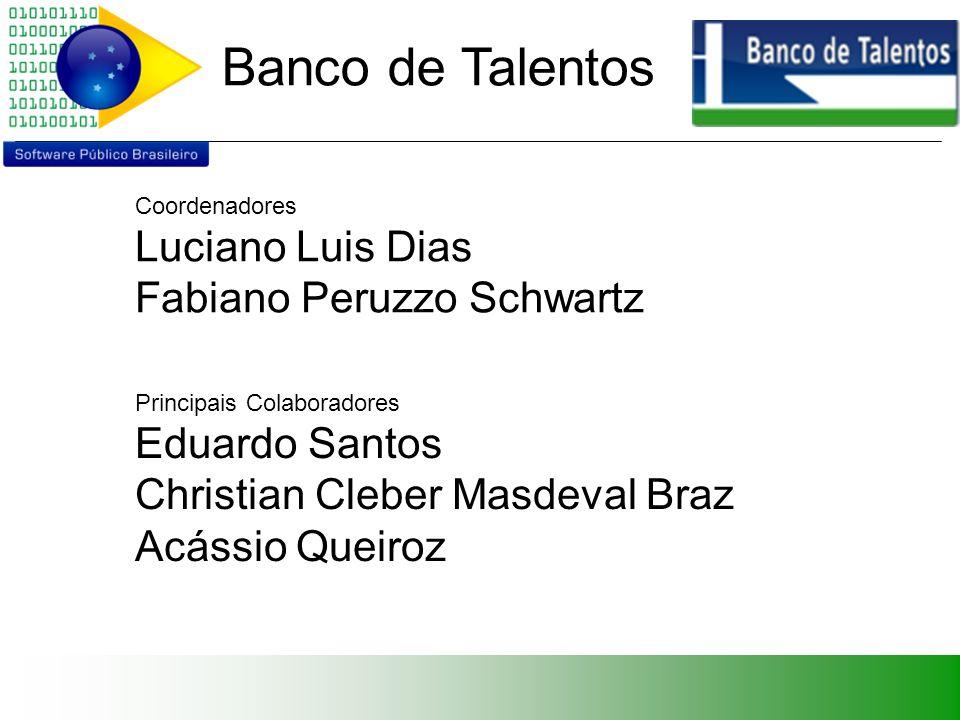 Banco de Talentos Agenda Ferramenta de Gestão de Pessoas Demonstração Evolução