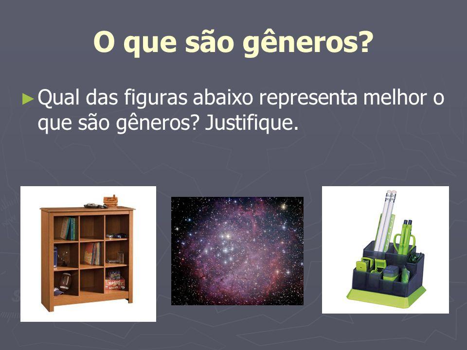 Leia a definição de nebulosa e faça um paralelo com o gênero Nebulosa 3 Falta de nitidez ou clareza; confusão, nebulosidade.