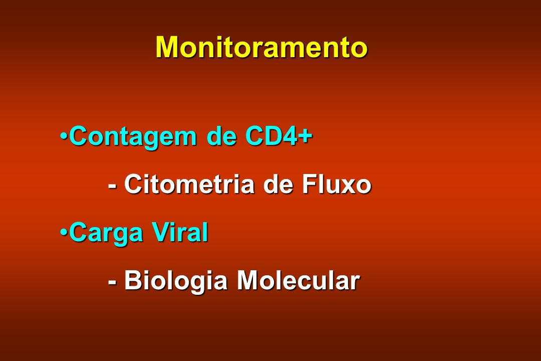 Highly Active Anti Retroviral Treatment (HAART) Redução da mortalidade em 40-70%Redução da mortalidade em 40-70% Redução da hospitalização em 80 %Redução da hospitalização em 80 % Aumento da qualidade e tempo de vidaAumento da qualidade e tempo de vida
