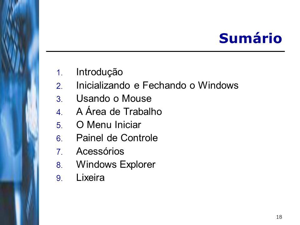 19 Introdução O que é um Sistema Operacional.