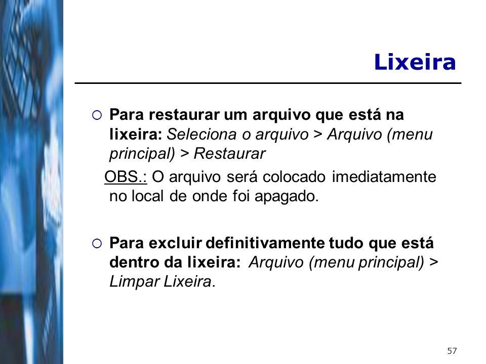 58 Informações Adicionais Links interessantes: http://www.dsc.ufcg.edu.br/~pet http://www.dsc.ufcg.edu.br/~joseana http://www.microsoft.com/windows/default.mspx http://www.apostilando.com