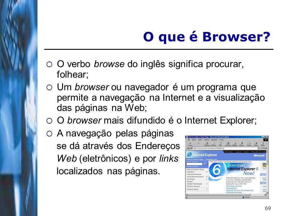 70 Buscadores Os motores de busca da Internet, ou buscadores, são ferramentas essenciais para encontrar informações no vasto e crescente mundo da Internet; São sistemas de busca por palavras chave, em bases de dados aos quais foram incluídas, automaticamente, páginas Web, através de robôs de busca pela rede;