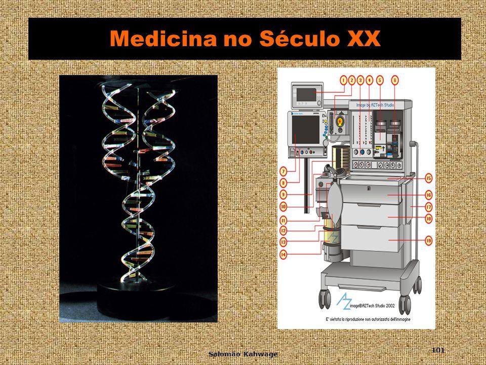 Salomão Kahwage 102 Medicina no Século XX