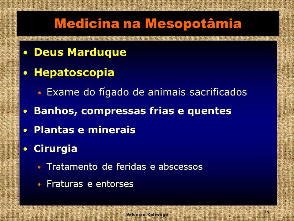 Salomão Kahwage 16 Medicina na Mesopotâmia Pazuzu Terrível demônio da enfermidade Hepatoscopia Fígado de Carneiro