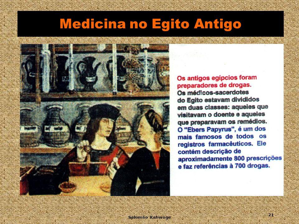 Salomão Kahwage 22 Medicina no Egito Antigo