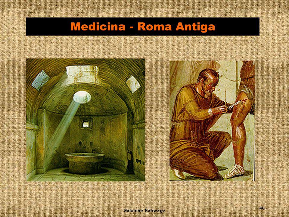 Salomão Kahwage 47 Medicina Medieval