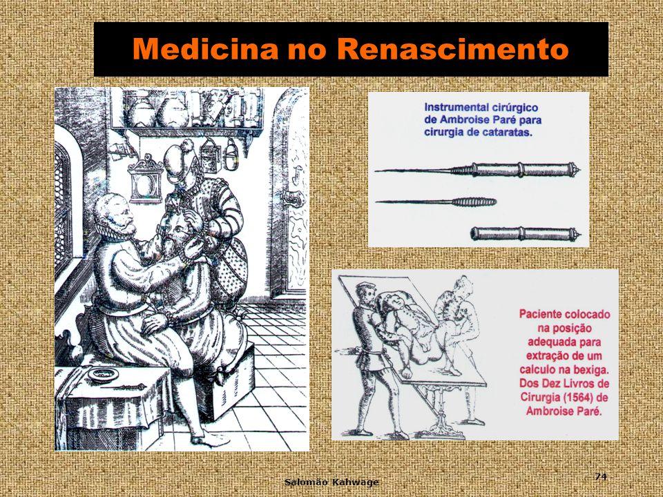 Salomão Kahwage 75 Medicina no Século XVII