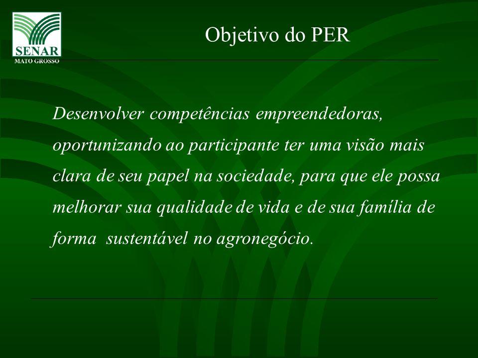 PÚBLICO ALVO DO PER PRODUTOR (A) RURAL OU O FILHO (A) DO PRODUTOR RURAL.