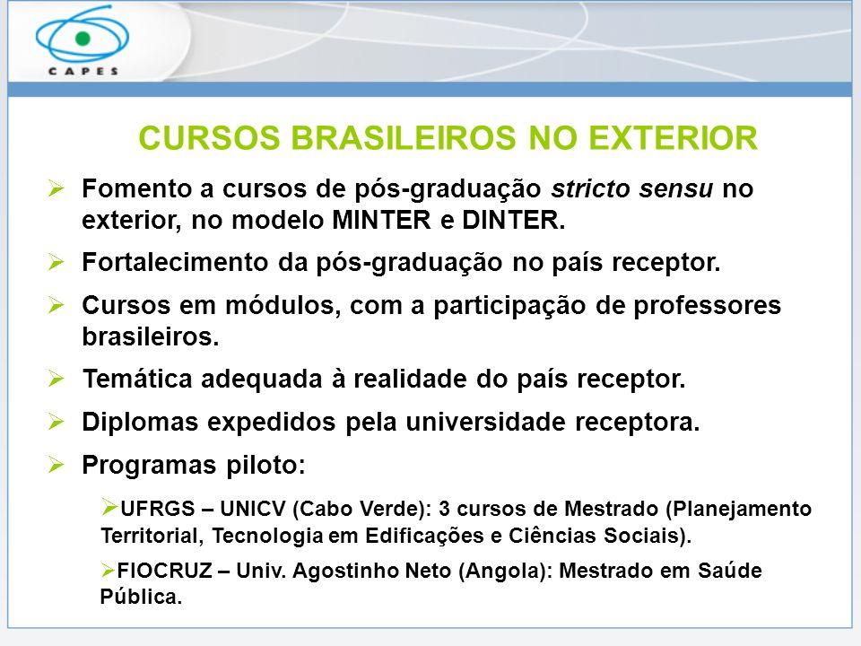 DESAFIOS DA COOPERAÇÃO Ampliar o apoio à comunidade acadêmica brasileira.
