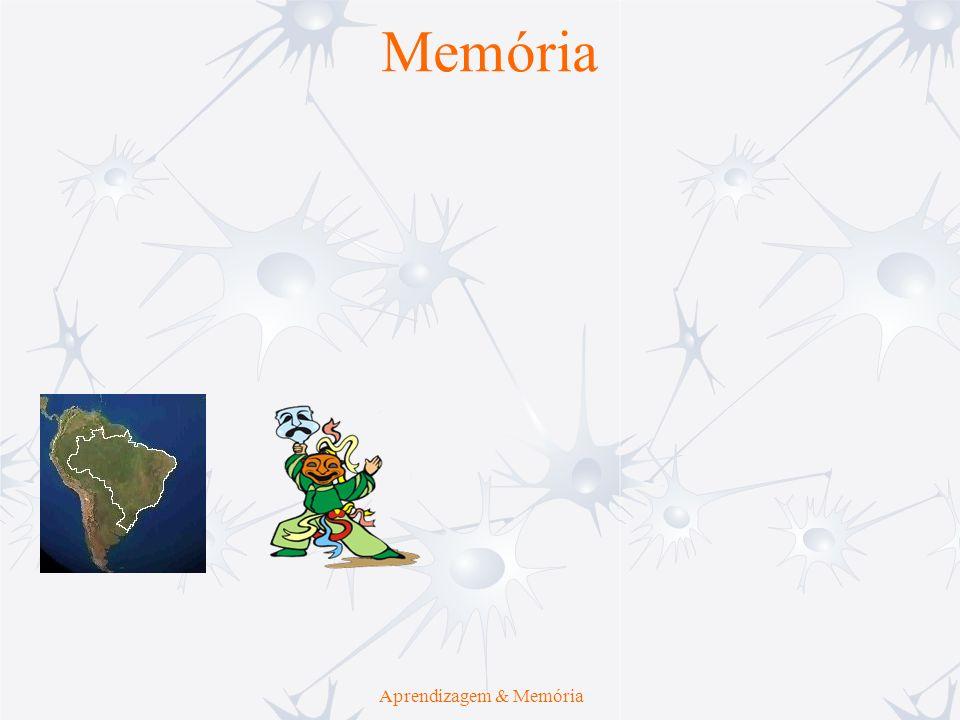 Aprendizagem Aprendizagem & Memória