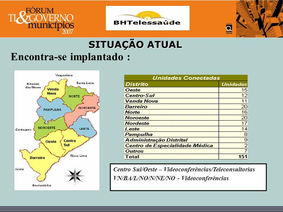 BHTelessaúde DETALHAMENTO DAS ATIVIDADES REALIZADAS NO PROJETO BHTELESSAÚDE ÁreaTIPO DE ATIVIDADENº DE ATIVIDADENº DE PARTICIPANTES TELEMEDICINAVideoconferências251527 (abril/04 a dez/06)Teleconsultorias188373 Internacional/ Nacional12345 Total2252245 TELEENFERMAGEMVideoconferências291730 (dez/04 a dez/06)Teleconsultorias515 Total341745 TELESAÚDE BUCALVideoconferências212061 (nov/05 a dez/06)Total212061 TOTAL GERAL 2806051