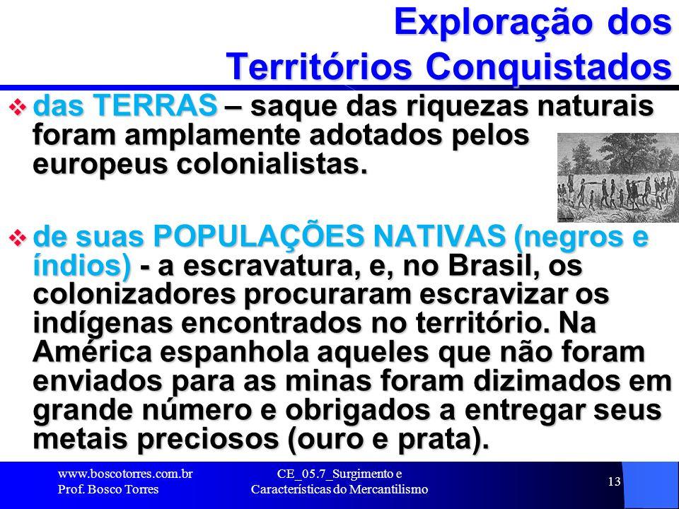 CE_05.7_Surgimento e Características do Mercantilismo 14 Extermínio dos Povos Astecas e Incas ÍNDIOS - O destino das civilizações encontradas no novo mundo, como os astecas e os incas, foi a submissão completa ou o extermínio.
