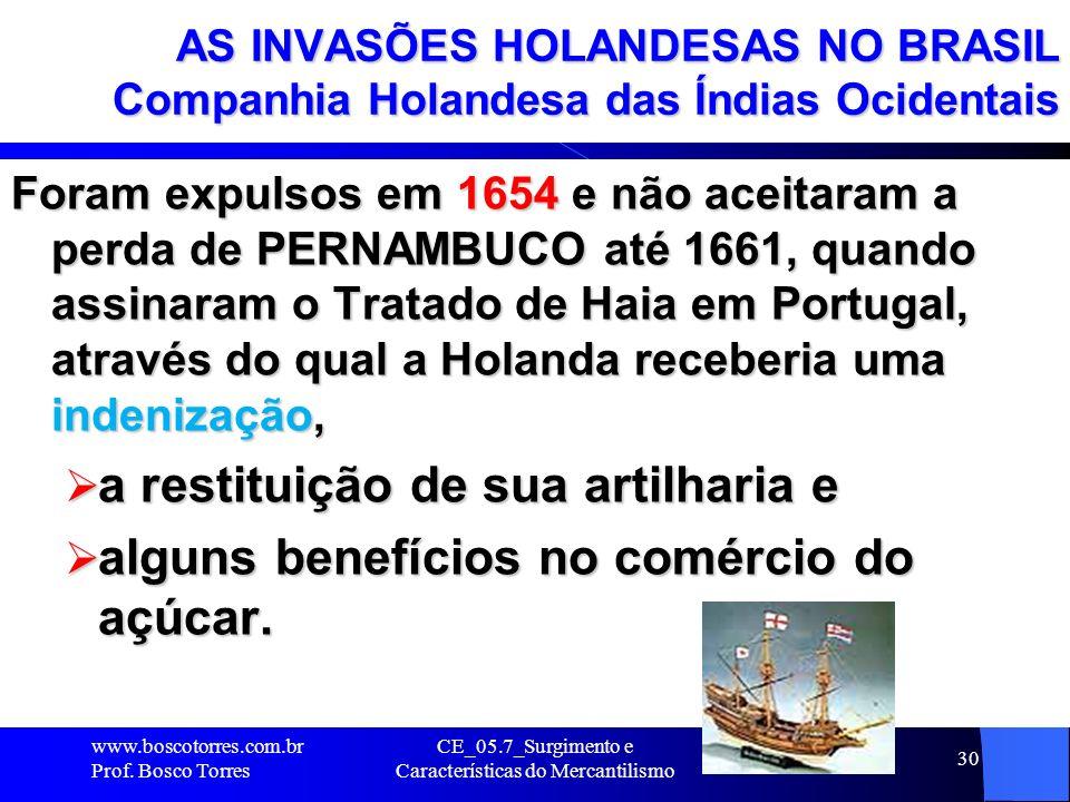 CE_05.7_Surgimento e Características do Mercantilismo 31 OS ATAQUES INGLESES NO BRASIL Piratas e Corsários atuando no Litoral Brasileiro Durante o fim do século XVI (1500) foram vários os ataques de corsários e piratas ingleses que saquearam portos e vilas do litoral brasileiro e atacaram navios que se dirigiam à Europa, apossando-se de sua carga.